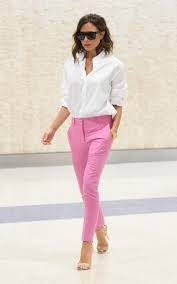 You Can Also Go For Light Denim Blue Shirts With Subtle Pink Pants Even Peach Looks Good