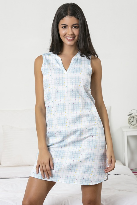 15ec2ef30c I prefer wearing a cotton nighty at night as compared to any other nightwear.  They let my skin breathe air and are very comfortable to sleep in.
