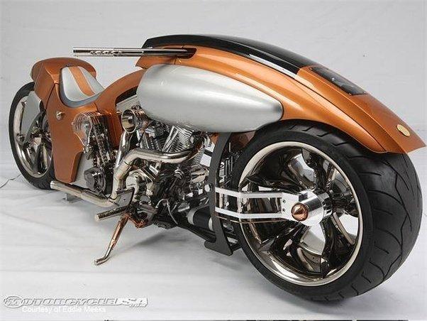 Front Wheel Drive Bike Engine Car