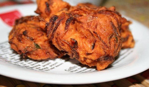 What are some of the most popular snacks from kerala quora thinly sliced onion is mixed with gram flour and some other ingredients are deep fried in coconut oil in kerala we prefer coconut oil to any other oil forumfinder Gallery