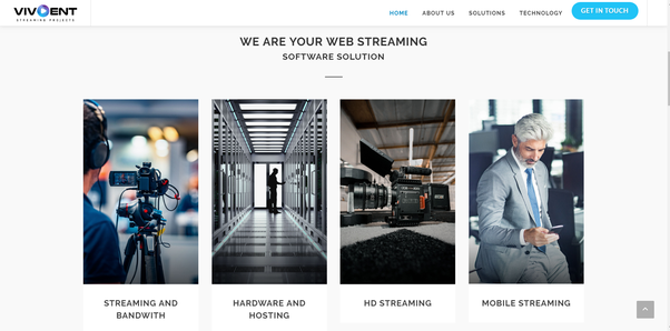 What is the best software for live video streaming on