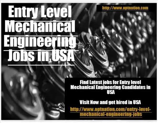 find all the latest entry level jobs for mechanical engineering at entry level mechanical engineering jobs in usa