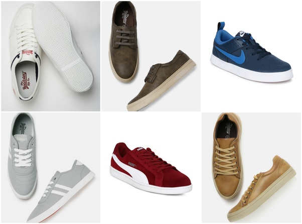 Casual Shoes White Brown Navy Blue Grey Black Red Beige