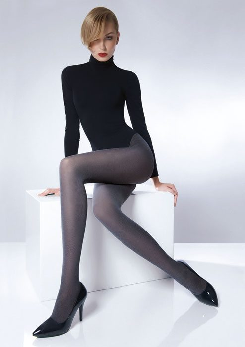 Spandex exercise pantyhose