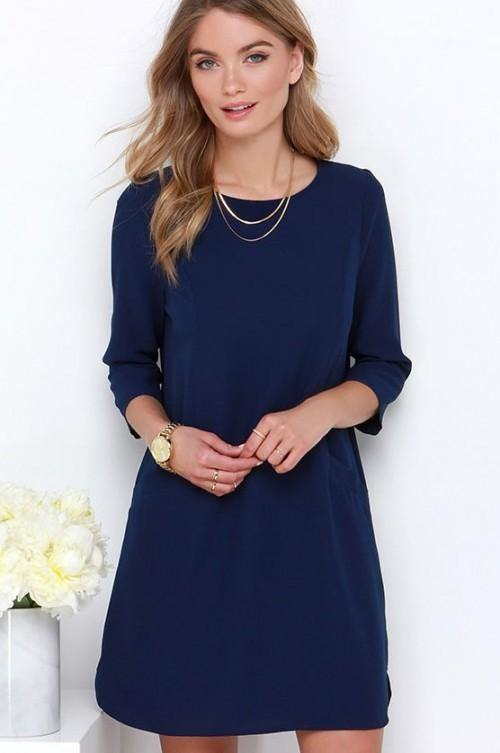 What Color Accessories Look Good With A Navy Blue Dress