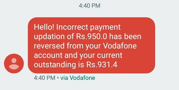 What if I don't pay my Vodafone postpaid bill, and I have