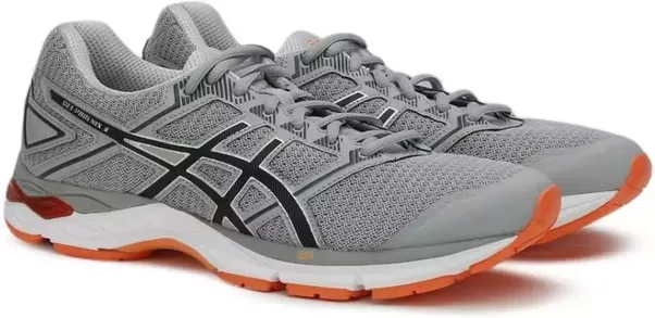#1 Asics Running Shoe - Buy MIDGREY/BLACK/HOT ORANGE Color Asics Running  Shoe Online at Best Price - Shop Online for Footwears in India | Flipkart .com