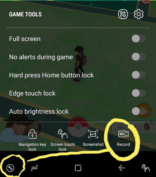 How to record a gameplay on an Android device with only internal
