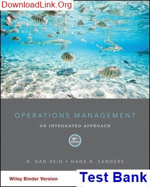 operations management stevenson 11th edition answers