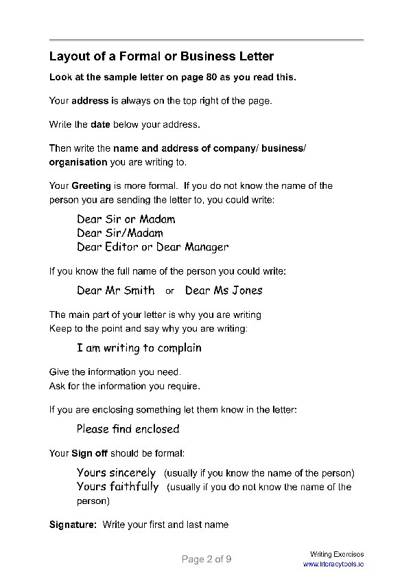 how to address a letter to multiple people
