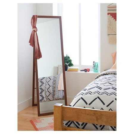 Some Floor Mirrors Also Come With Racks Behind Them, So All Your Clutter Is  Hidden Behind And Doesnt Take Any More Space Than A Plain Old Ladder.