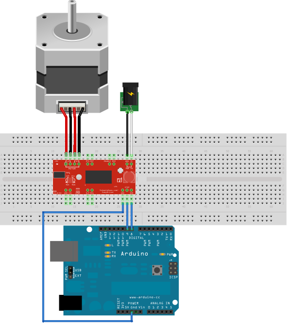 Can we connect stepper motors using arduino uno quora