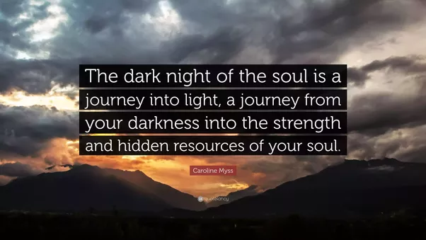 What Is The Dark Night Of The Soul?