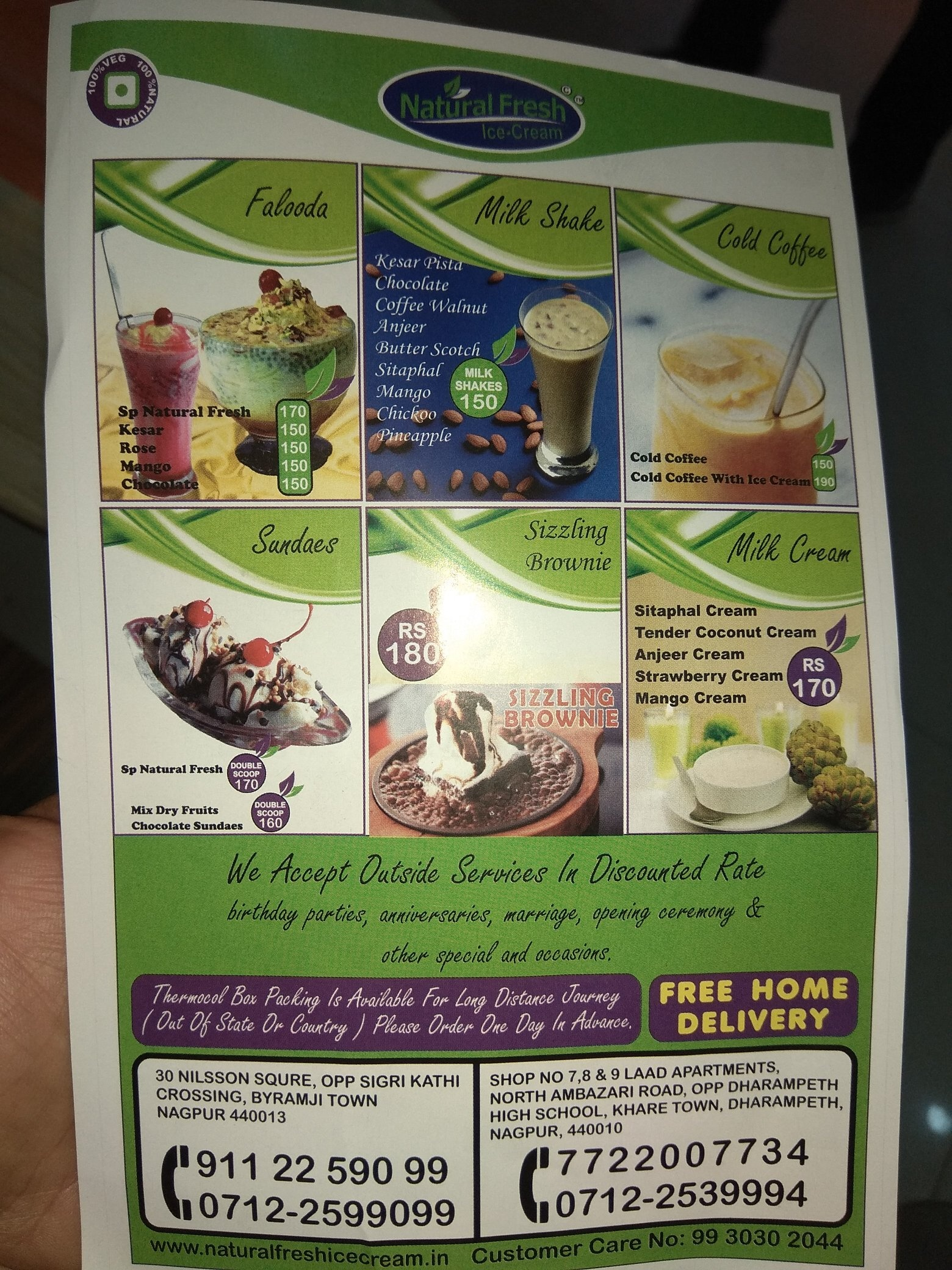 Where Can I Get Naturals Ice Cream In Nagpur Quora