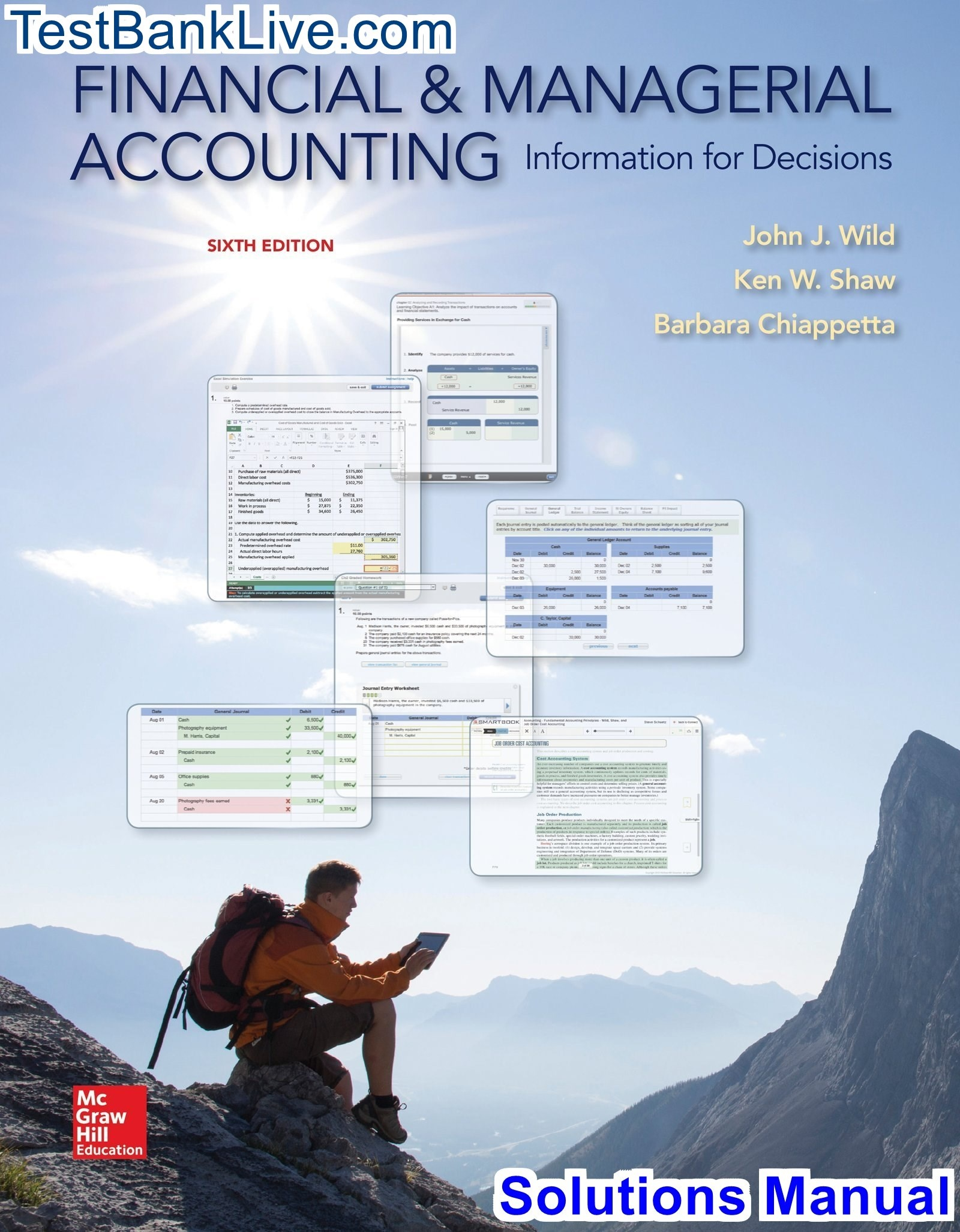 managerial accounting 16th edition chapter 12 solutions