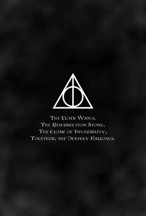 What Is The Real Theory Of The Deathly Hallows Quora