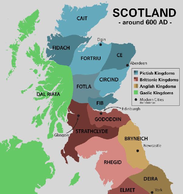 Map Of Ireland 600 Ad.Why Has Ireland Never Been Able To Invade The Rest Of The British