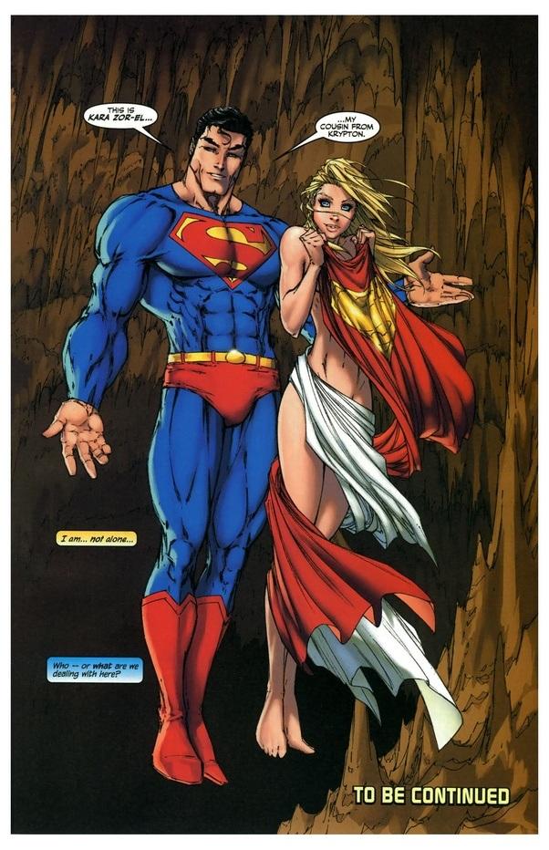 Superman having sex with superwoman