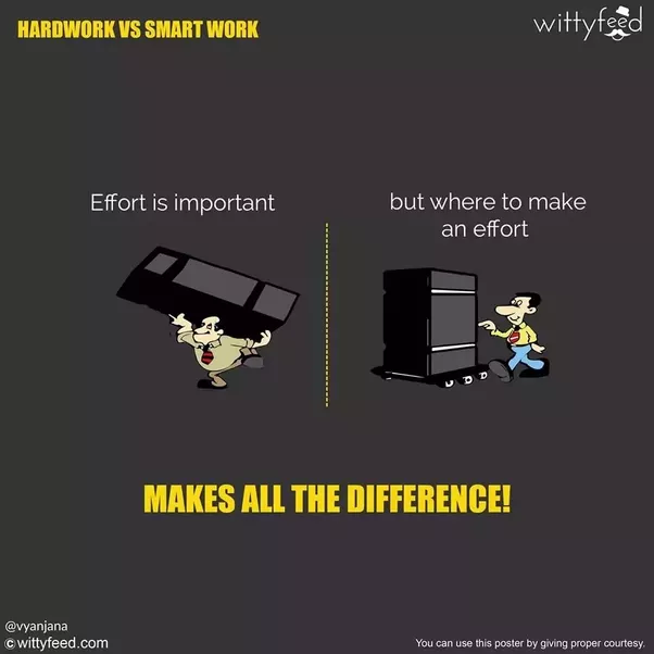 Work Smarter Not Harder Quote: What Are The Best Examples Of Working Smart Versus Working