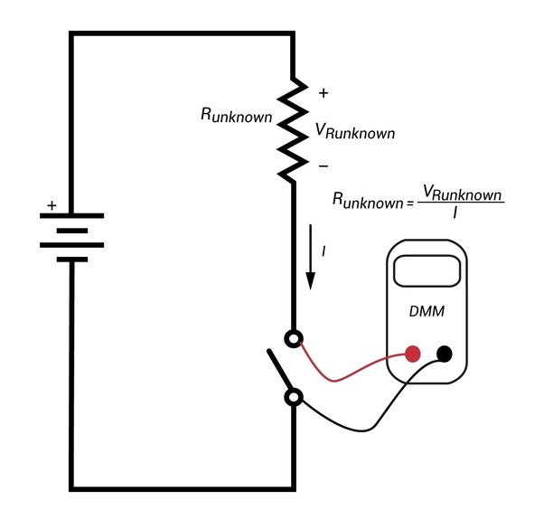 how is ammeter connected in an electric circuit
