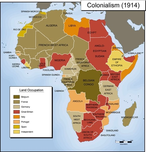 What are the only countries that weren't colonized in Africa?   Quora