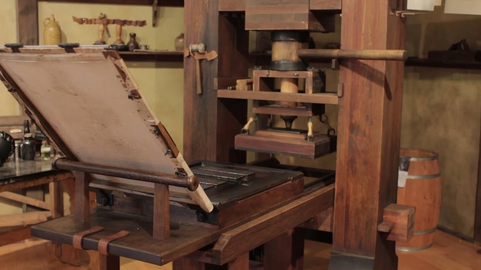How Did The Invention Of Printing Press Change World Quora Diagram Year 1 And 2 Context Rotary Drawing Inspiration From Movable Types East Asia Screw Type Farmers In Europe Gutenberg Invented His Famous