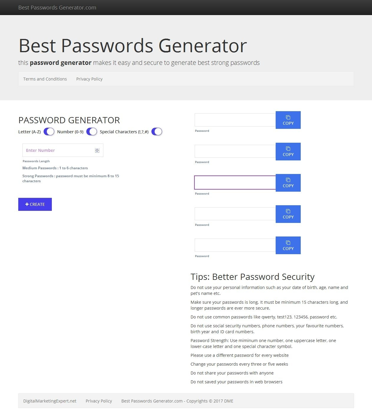 Which are the most secure password generators on the Internet? - Quora