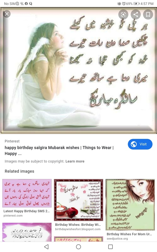 What are some birthday wishes written in Urdu that I can ...