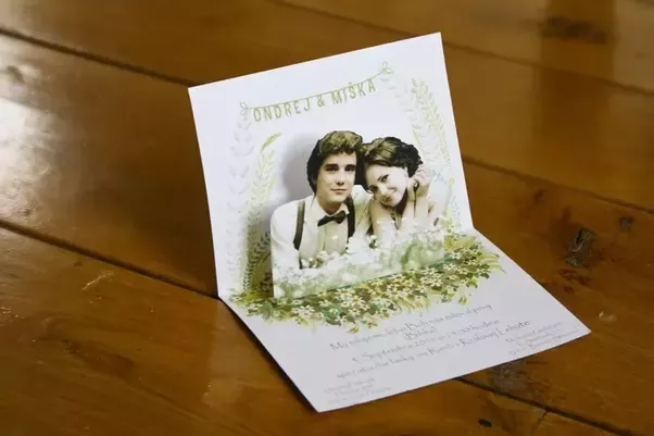 What are some creative marriage invitation cards Quora
