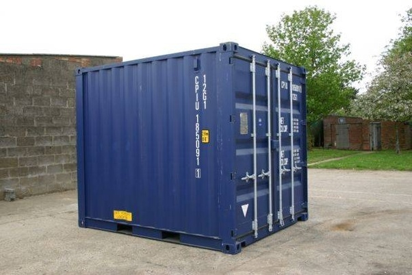 How much does a steel shipping container weigh? - Quora