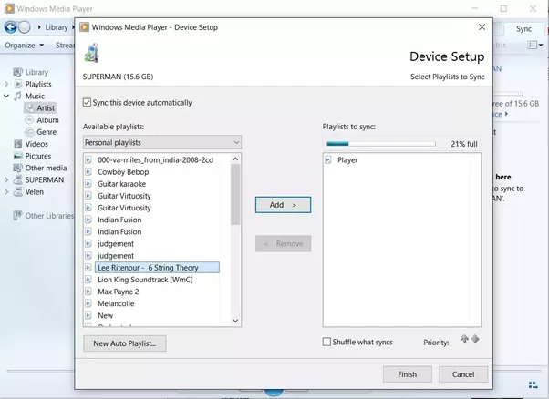How to transfer music to my Eclipse MP3 player from ...
