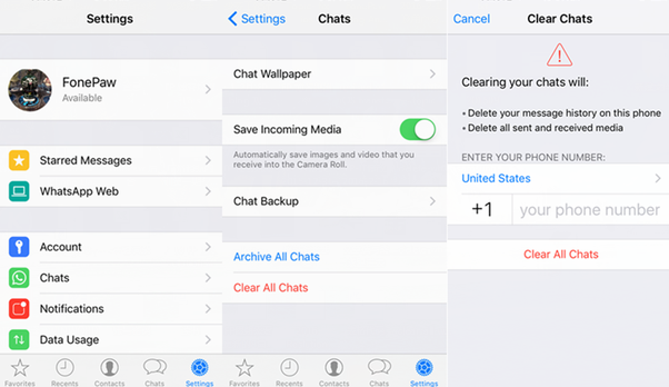 how to permanently delete instagram chats