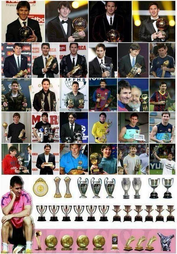 Messi Has Won Every Individual Trophies Of FIFA