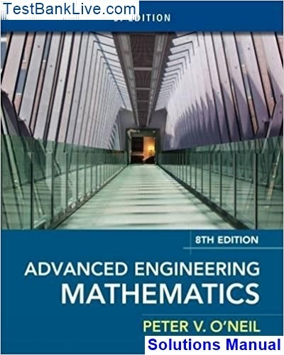 advanced engineering mathematics 10th edition solution manual pdf free