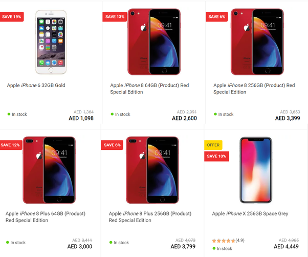 How much does an iPhone cost in Dubai? - Quora