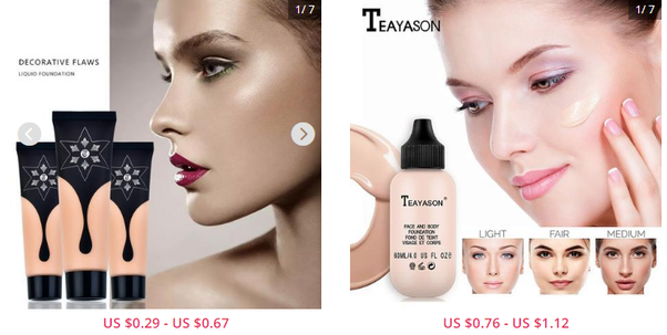 European American Cosmetic Brands