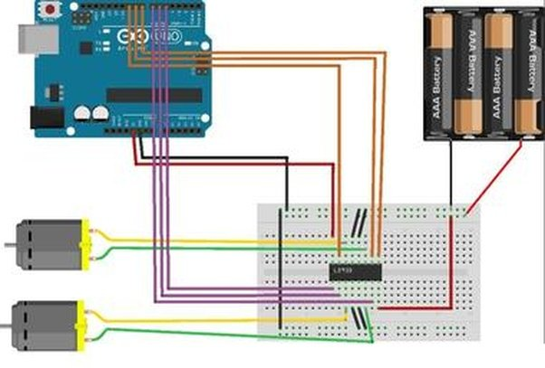 How to control the speed of a dc motor using an arduino