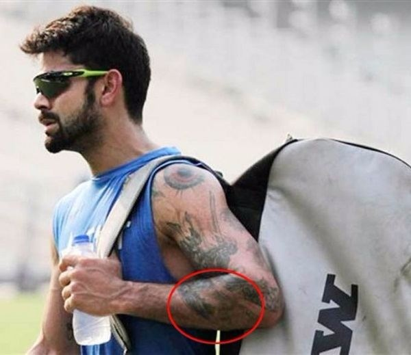 How Many Tattoos Virat Kohli Has And What Do They Mean Quora