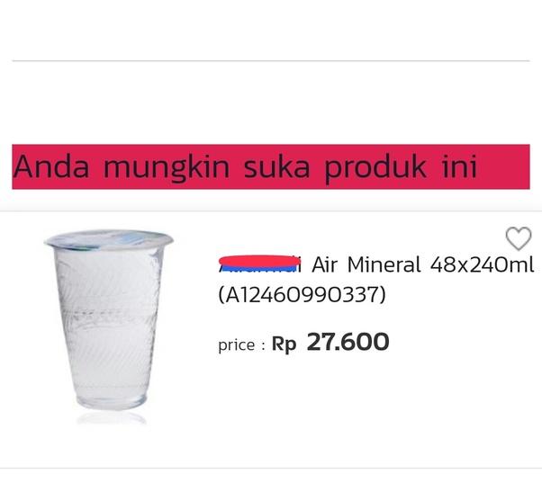 Menurutmu, apakah lebih baik membeli air minum kemasan ...