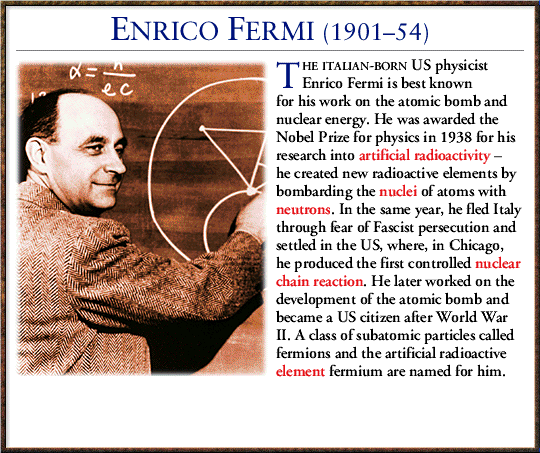 a biography and work of the italian physicist enrico fermi The pope of physics delves into the personal and scientific life of fermi and how political and social forces shaped the man, and how he, in turn, shaped them a thrilling history of scientific innovation in the twentieth century—including the controversial issue of nuclear weapons—this is the comprehensive biography that fermi deserves.