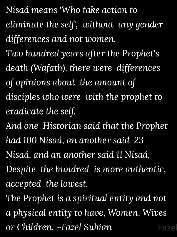 How old were the wives of Prophet Muhammad? - Quora