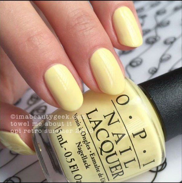 Theres The Bright Sunshiny Yellows This One Is Zoya