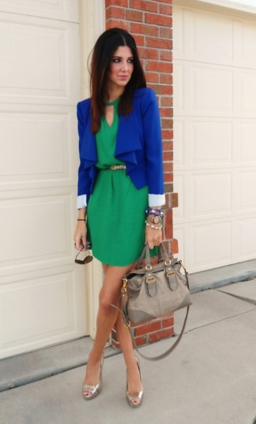 What Color Shoes To Wear With Turquoise Blue Dress