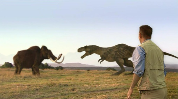 Who would win in a fight, a woolly mammoth or a T. rex ...
