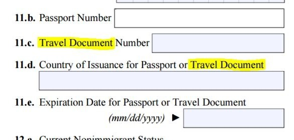 What Is The Document Number For A Passport Quora