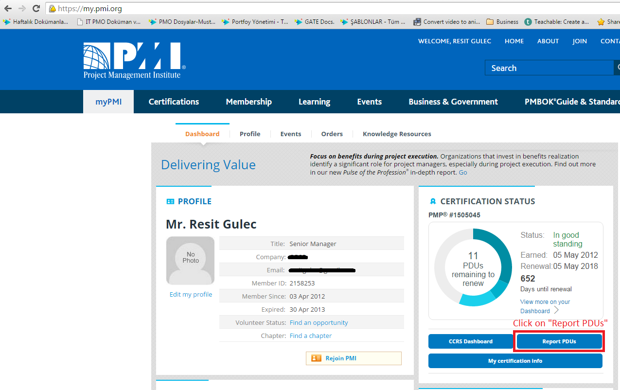 How To Register For Pdus In Pmi Quora