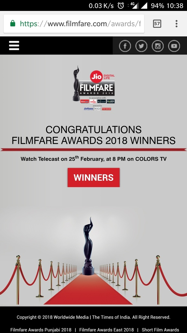 How to watch the Filmfare Awards 2018 - Quora