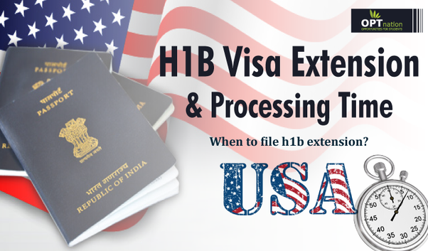 How soon can we apply for an H1B extension? - Quora