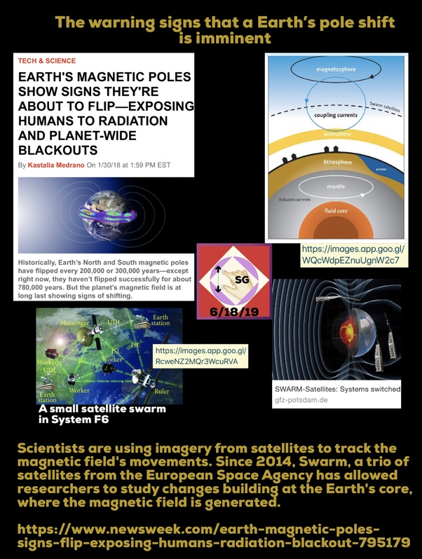 What are the warning signs that a planetary pole shift is