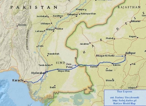 india to pakistan train route map How Many Trains Between India And Pakistan Quora india to pakistan train route map
